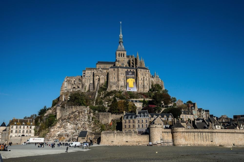 Le mont saint michel tour de france 2016 le for Au jardin st michel pontorson france